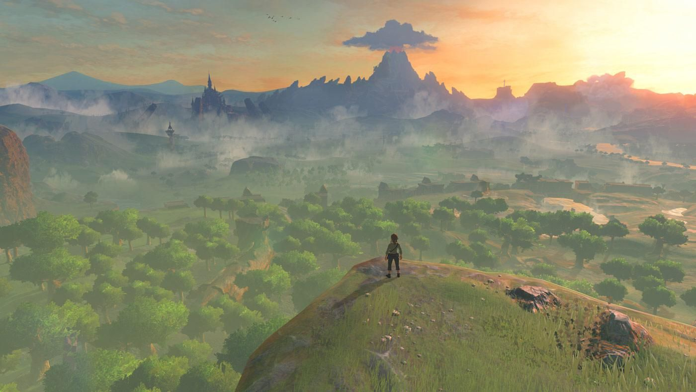 zelda interaktive karte The Legend of Zelda – Breath of the Wild: Interaktive Karte